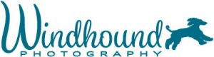 Windhound pet photography logo